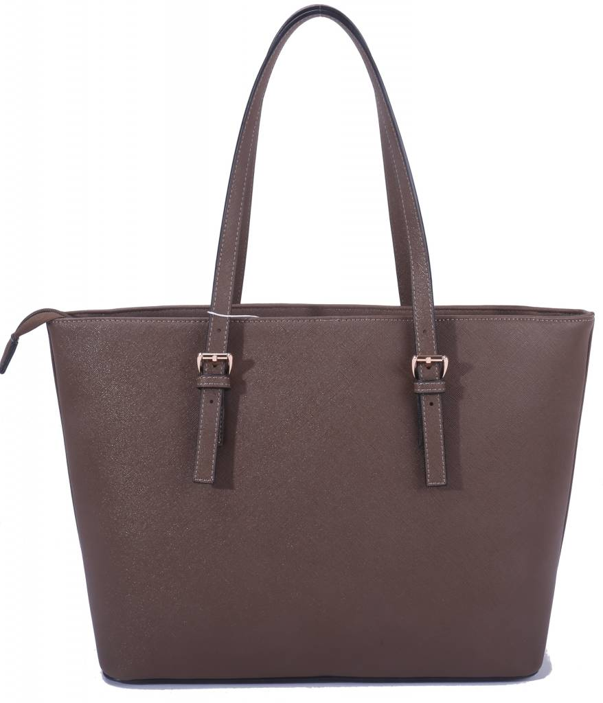 Shopper Beverly Coffe Brown