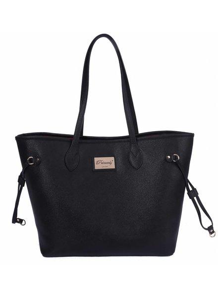 Medium Shopper Georgia Black