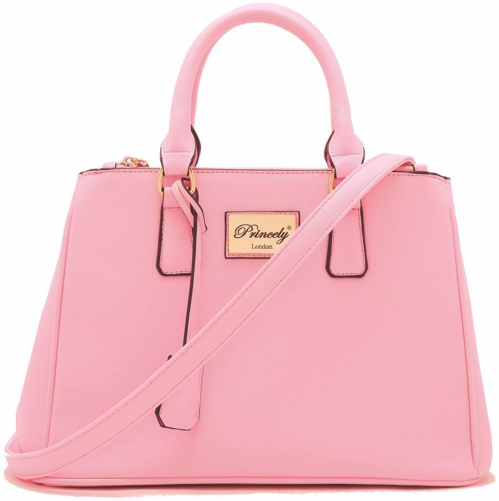 Handbag Victoria Almond Blossom Rose
