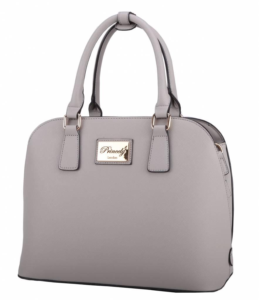 Handtasche Selena Kreidegrau