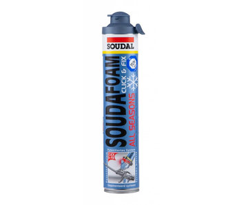 Soudafoam gun Click & Fix Low Exp. 750 ml
