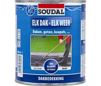 Elk Dak - Elk Weer zwart 4 l