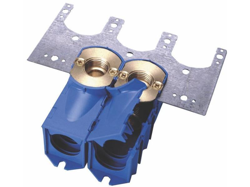 Begetube Enkele inbouwdoos M24  (blauw)