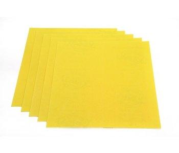 Schuurpapier geel alu-oxide