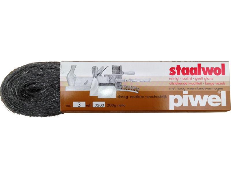 Bobrush PIWEL staalwol in pakjes 200g
