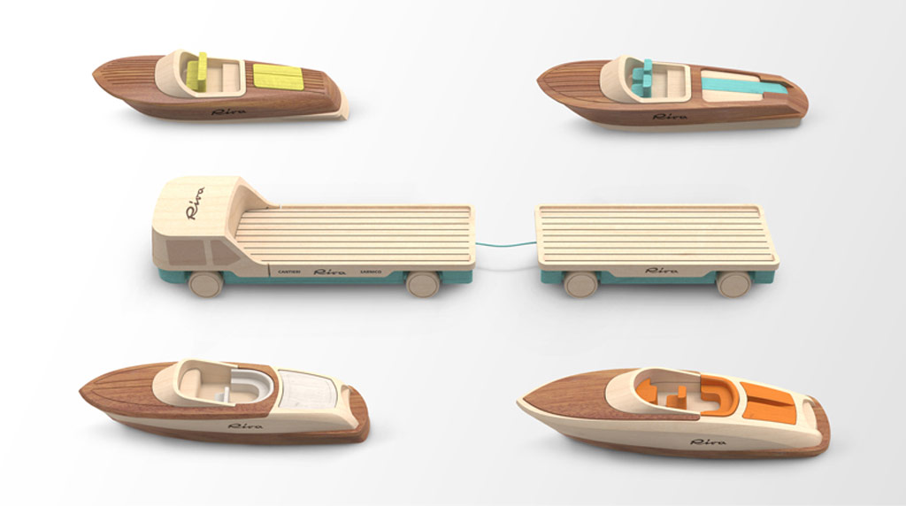 riva houten speelgoed boot van Madeindreams