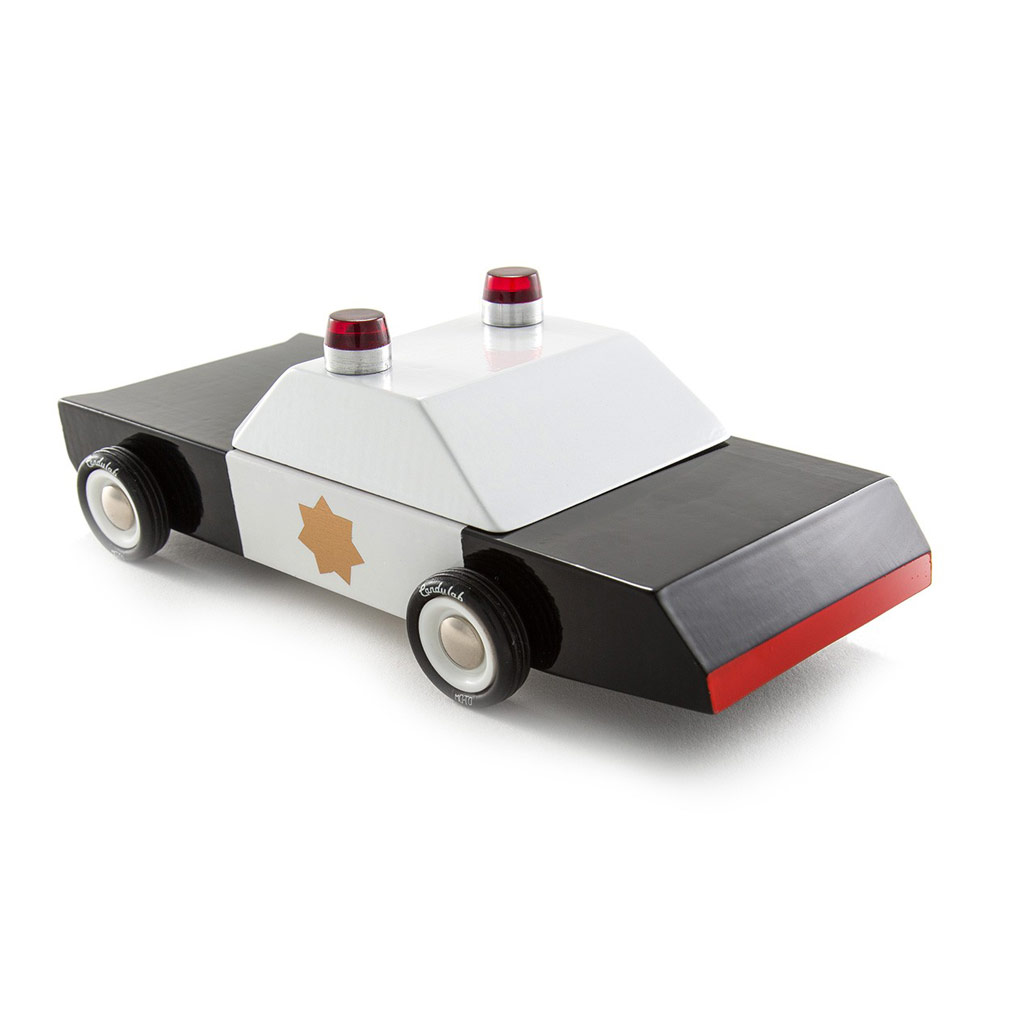 Candylab houten politie auto
