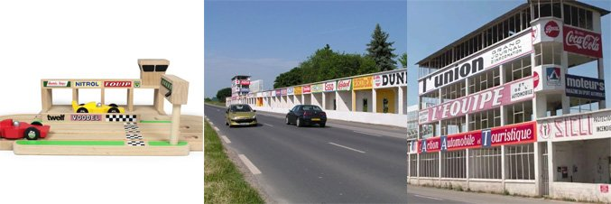 Abandoned F1 circuit is inspiration for toy race track