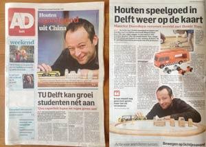 maurice doorduyn ikonic toys algemeen dagblad haasche courant persbericht