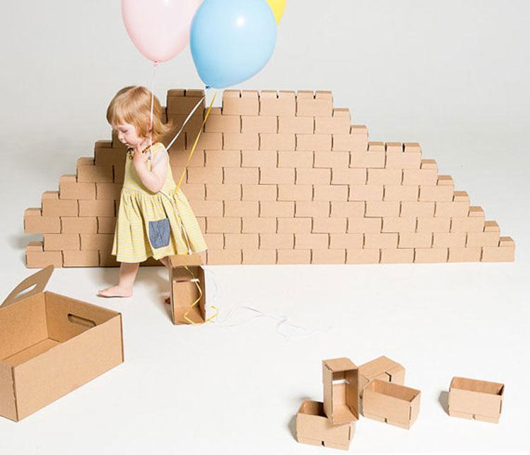 Gigibloks kartonnen bouwstenen