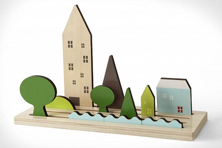 Shusha Toys Landscapes houten speelgoed