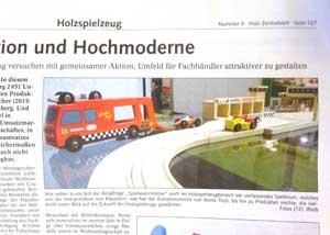 ikonic toys spielwarenmesse holz zentralblatt press publication toys