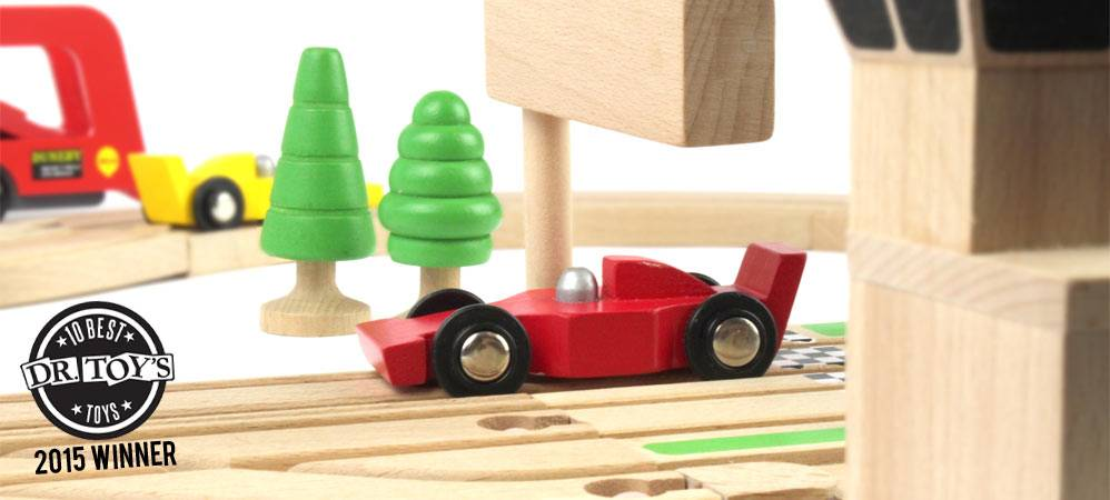 Wooden Toy Race Track wins US Toy Award