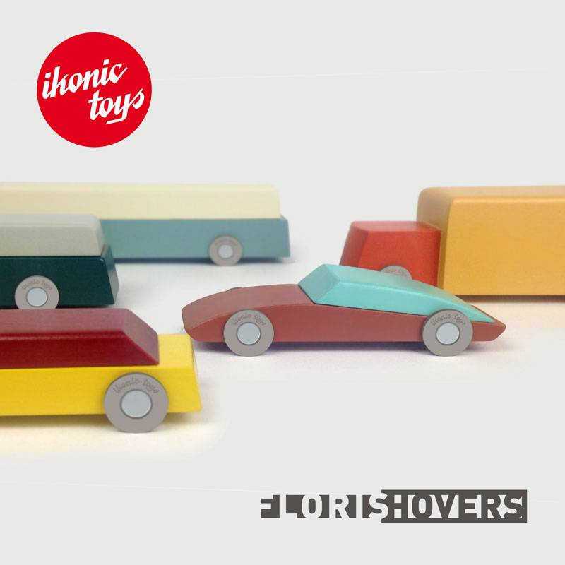 New collection of wooden toy cars designed by Floris Hovers