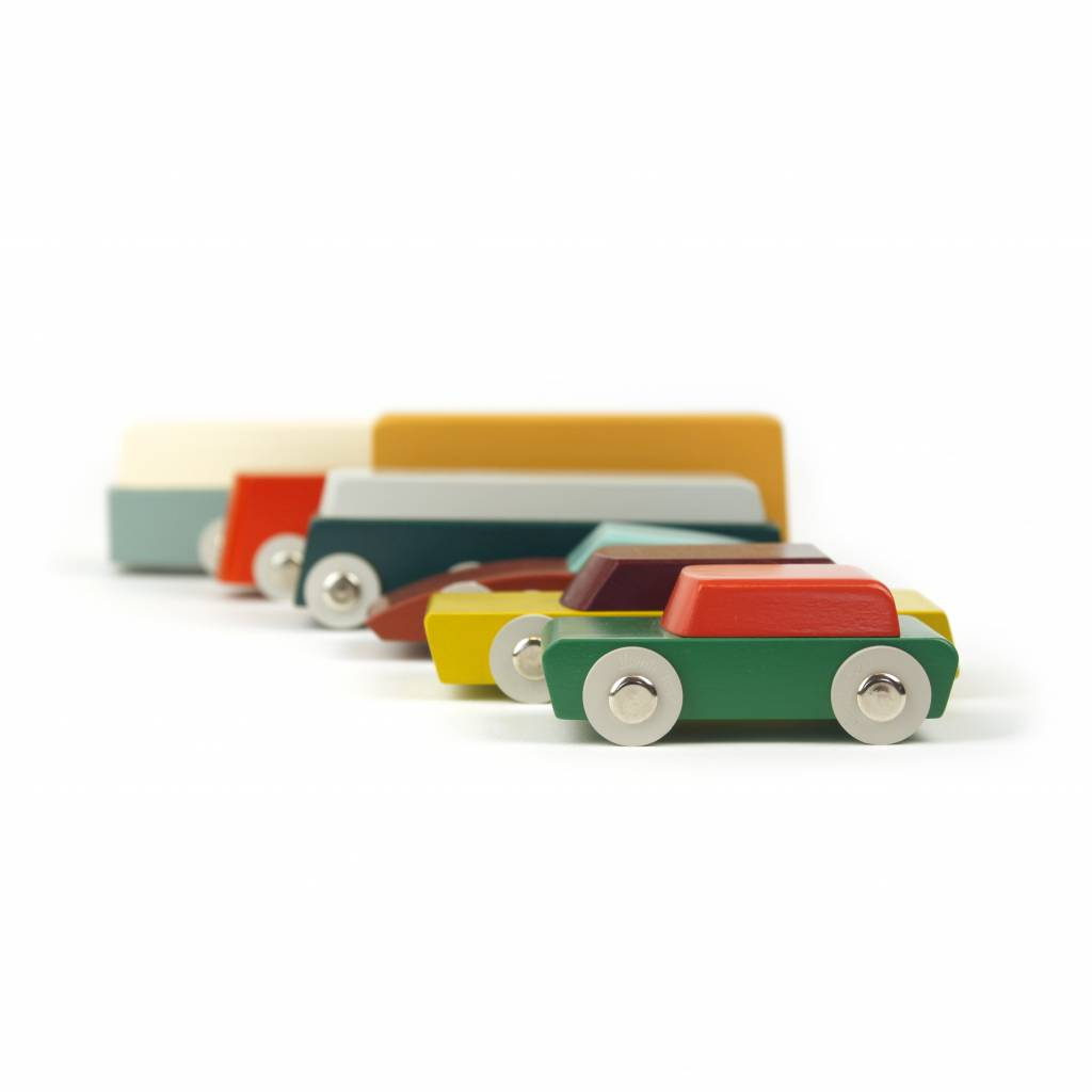 Ikonic Toys Floris Hovers Duotone Cars - Set