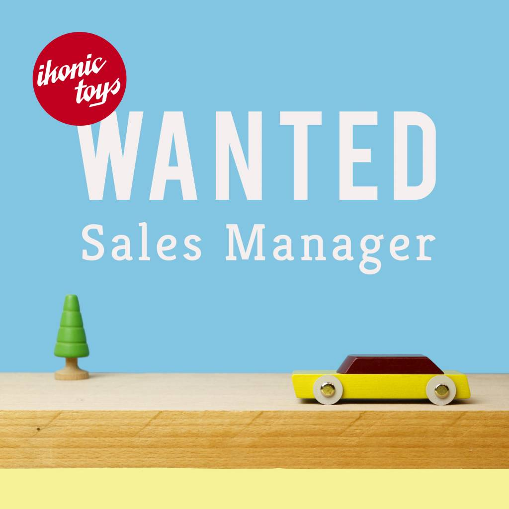 WANTED: Sales Operation Manager