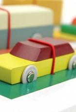Ikonic Toys Voitures en Bois de Floris Hovers
