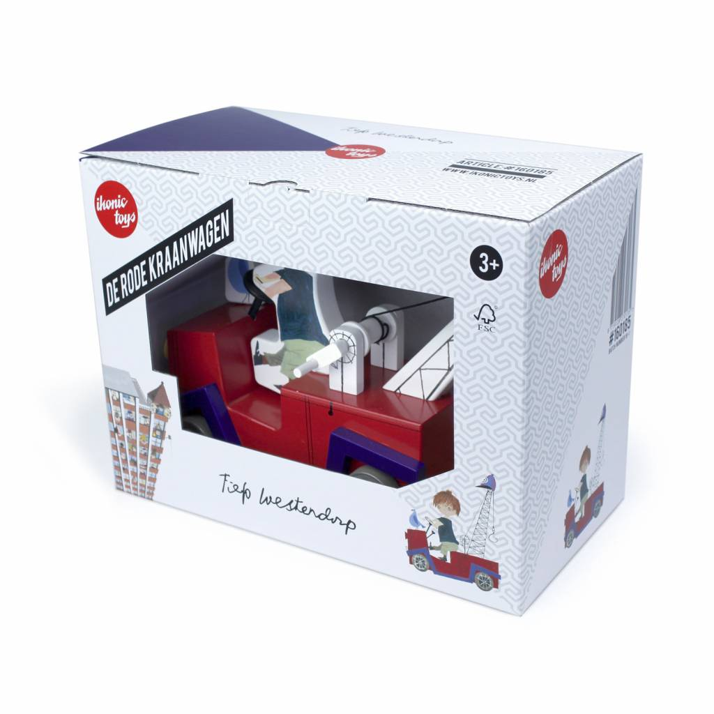 Ikonic Toys The Red Tow Truck