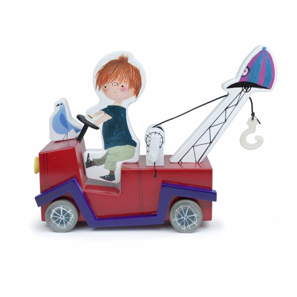 Ikonic Toys De Rode Kraanwagen