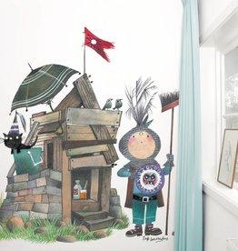 Kek Amsterdam Fotobehang 'Kleine ridder'