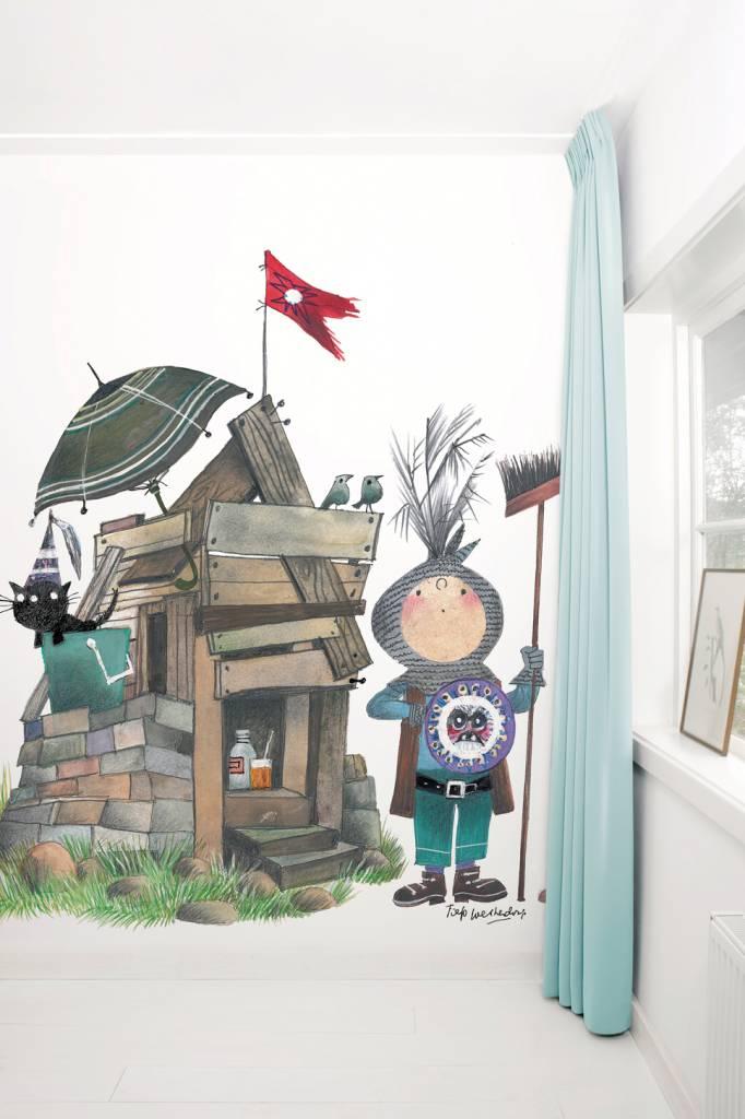 Kek Amsterdam Fotobehang 'Kleine ridder', Fiep Westendorp