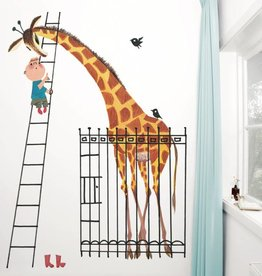 Kek Amsterdam Photo wallpaper Giant Giraffe / Dikkertje Dap