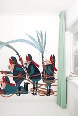Kek Amsterdam Wallpaper 'Fire Department' - Fiep Westendorp