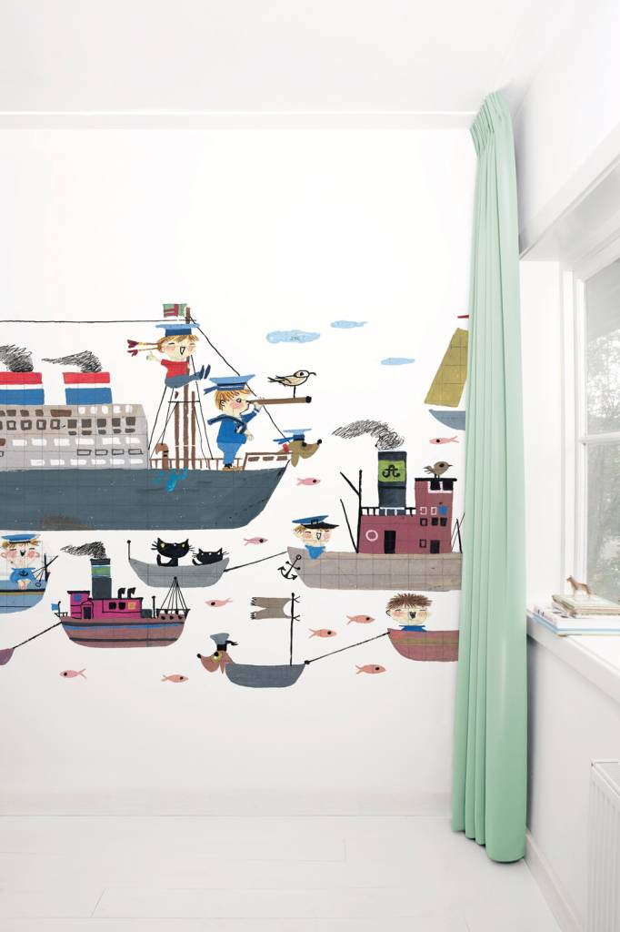 "Kek Amsterdam Photo wallpaper ""Holland America Line"" - Fiep Westendorp"