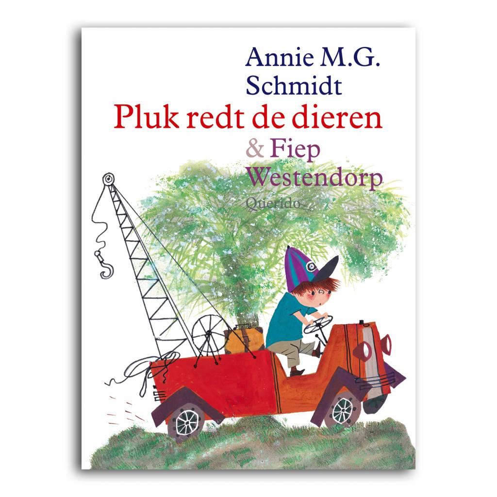 Querido Pluk redt de dieren - Annie M.G. Schmidt, hardcover