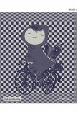 Hollandsche Waaren Tea Towel 'Riding a bike'