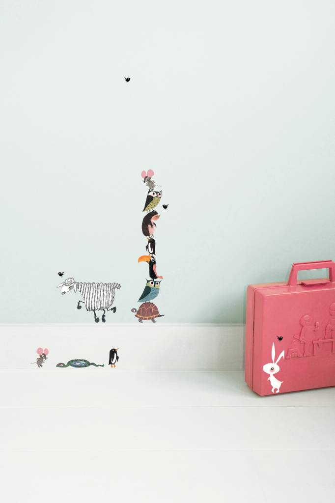 Kek Amsterdam Wall stickers Animals (small set)