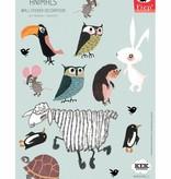 Kek Amsterdam Wall stickers Animals (small set)