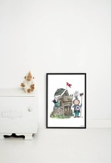 Kek Amsterdam Poster 'Small Knight'
