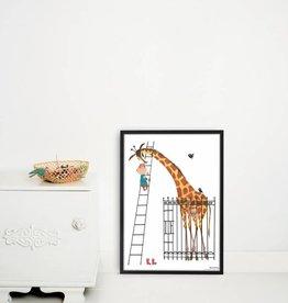 Kek Amsterdam Poster 'Giant Giraffe'