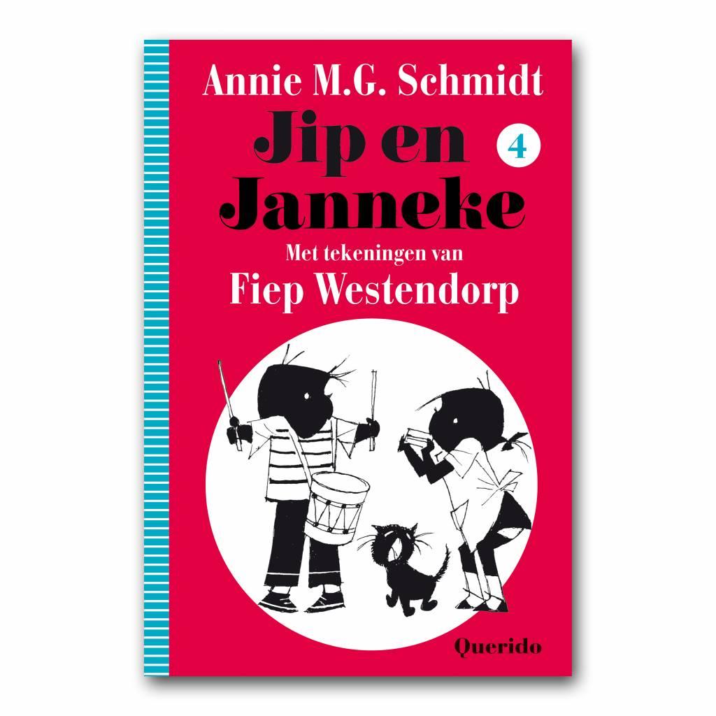Querido Jip en Janneke Boek 4 - Annie M.G. Schmidt en Fiep Westendorp