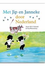 Querido Met Jip & Janneke door Nederland! Ga je mee fietsen en steppen door de straten!