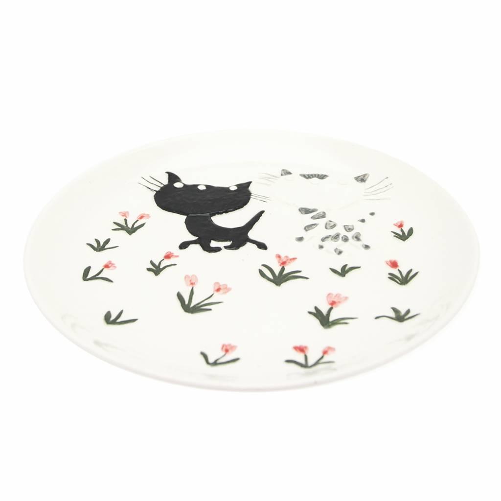 Hollandsche Waaren Porcelain Pim en Pom Plate