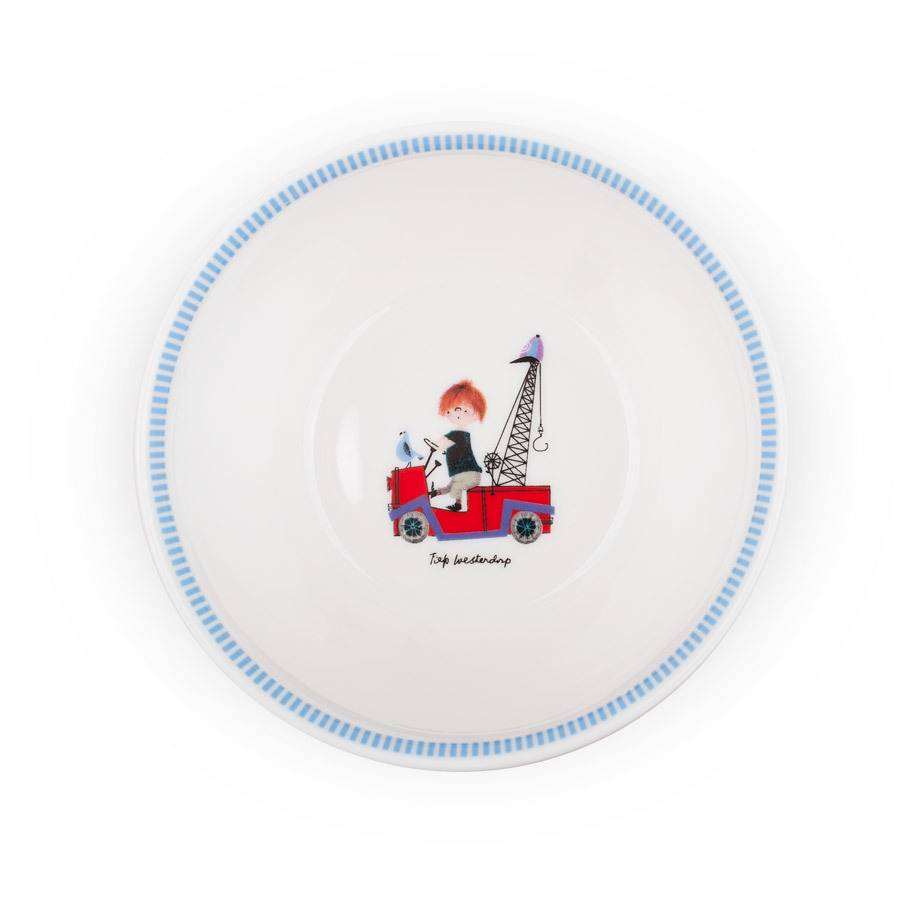 Fiep Amsterdam BV Bowl - The Red Tow Truck (red)