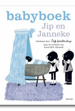 Querido Jip en Janneke, Babyboek Jongen,  blauw. Het eerste levensjaar van je baby staat bol van de bijzondere, verrassende en grappige momenten, leg ze vast in dit fraaie Jip en Janneke babyboek!