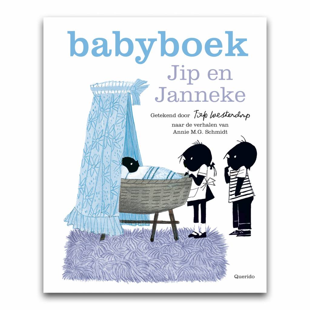 Querido Jip and Janneke babybook boy,  blue - Fiep Westendorp