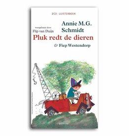 Querido Pluk redt de dieren (2CD-luisterboek)