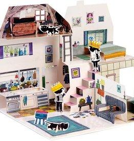 Querido Pop-up Boek: Het huis van Jip en Janneke -  Annie M.G. Schmidt