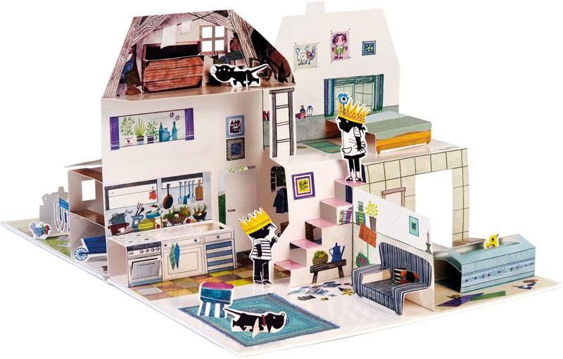 Querido Pop Up Book - House of Jip and Janneke -  Annie M.G. Schmidt