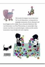 Querido Jip en Janneke, Babyboek Meisje, roze - Fiep Westendorp