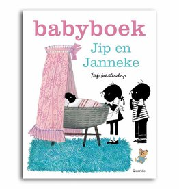 Querido Jip and Janneke, babybook girl, pink