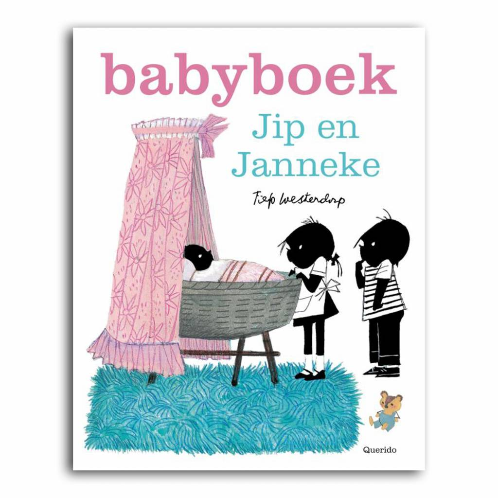 Querido Jip en Janneke, Babyboek meisje, roze. Het eerste levensjaar van je baby staat bol van de bijzondere, verrassende en grappige momenten, leg ze vast in dit fraaie Jip en Janneke babyboek!
