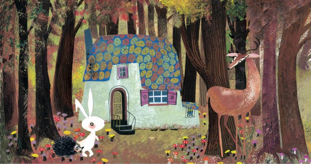 Studio Roof Tiny Story Pop Out Cards, Forest House