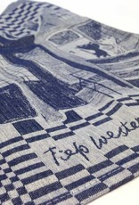 Hollandsche Waaren Tea Towel 'Pim and Pom / Prinsengracht' - Fiep Westendorp