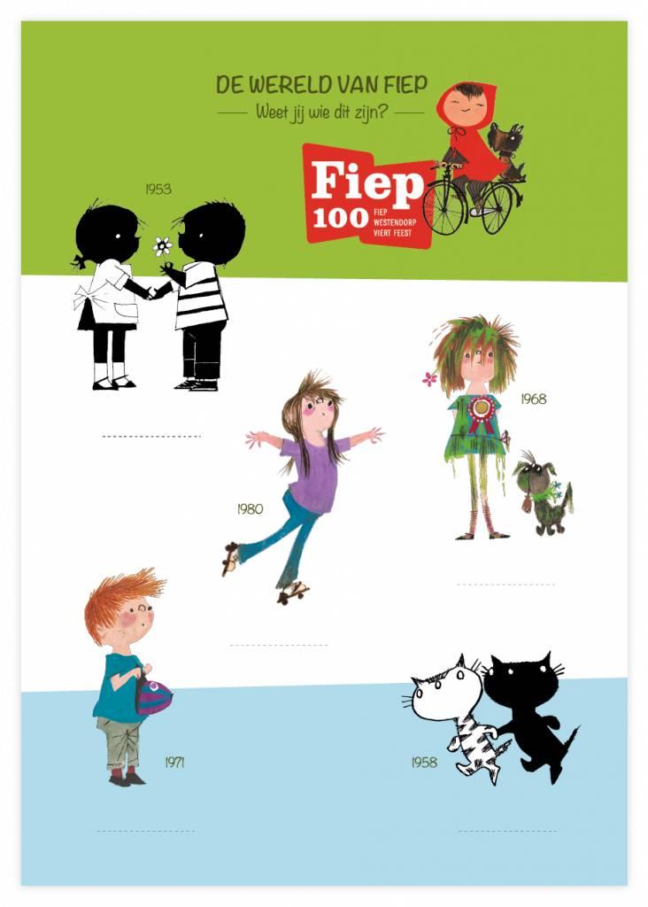 Very Mappy Grote Xl Kleurplaat Met Illustraties Van Fiep Westendorp