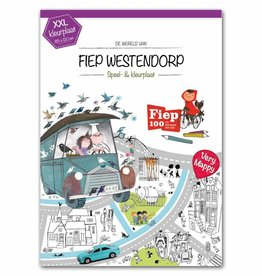 XXL Color & play map of Fiep Westendorp